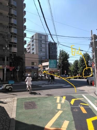 道順本白山駅近く1(矢印付)
