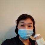 マスクの私